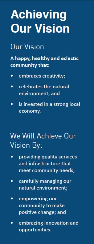 Achieving Our Vision