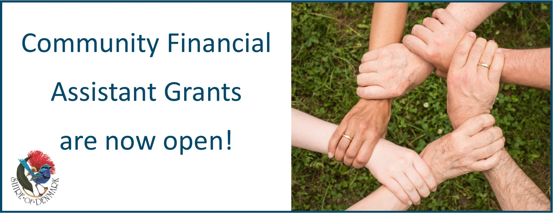 Image - Community Financial Assistance Grants Now Open!