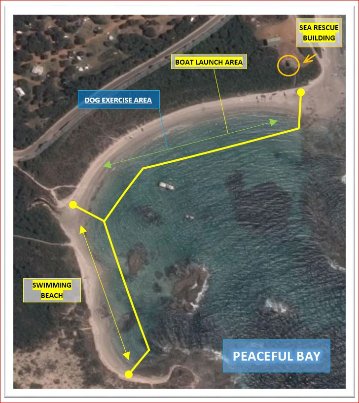 Peaceful Bay Exercise Areas