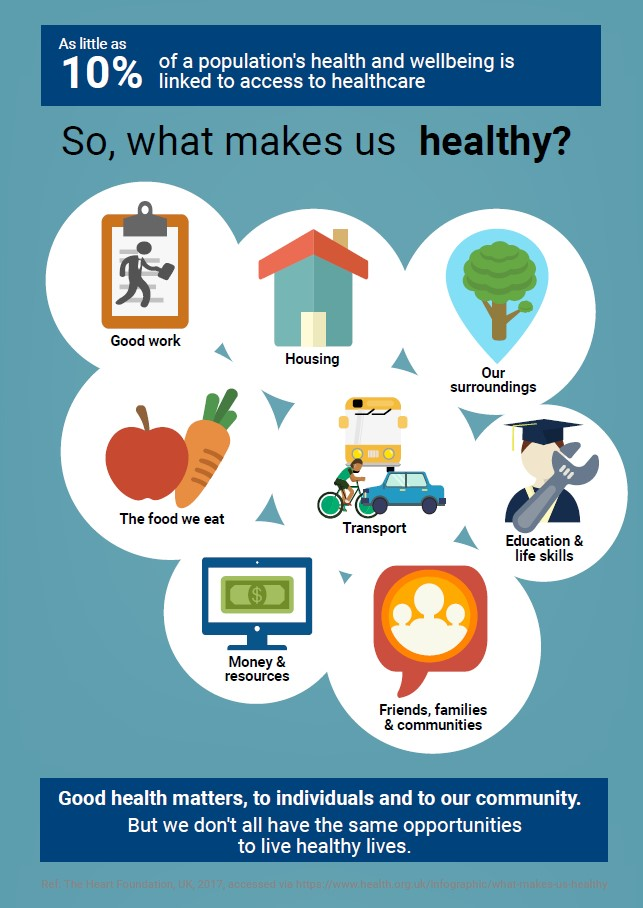 What Makes Us Healthy?