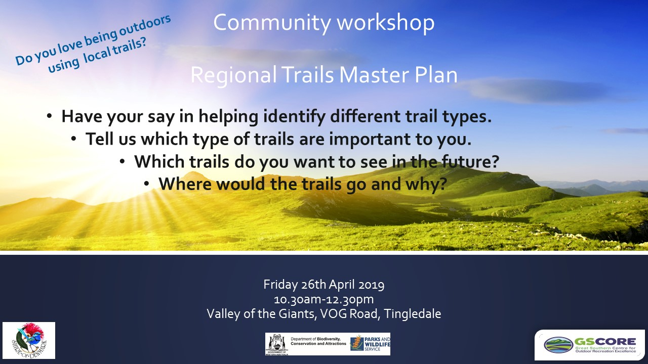 Trails Master Plan Workshop - Valley of the Giants