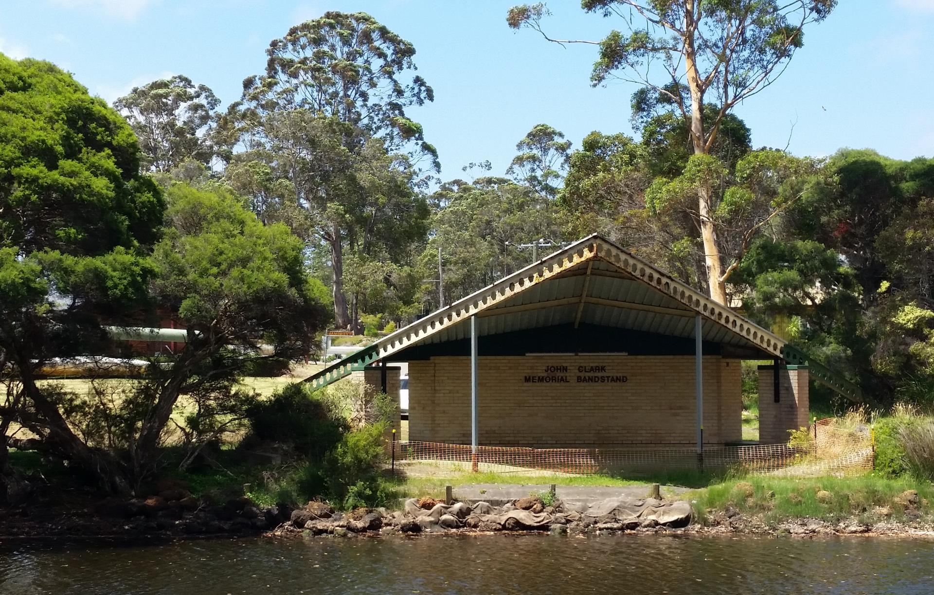 Decision made on future of John Clark Memorial Bandstand