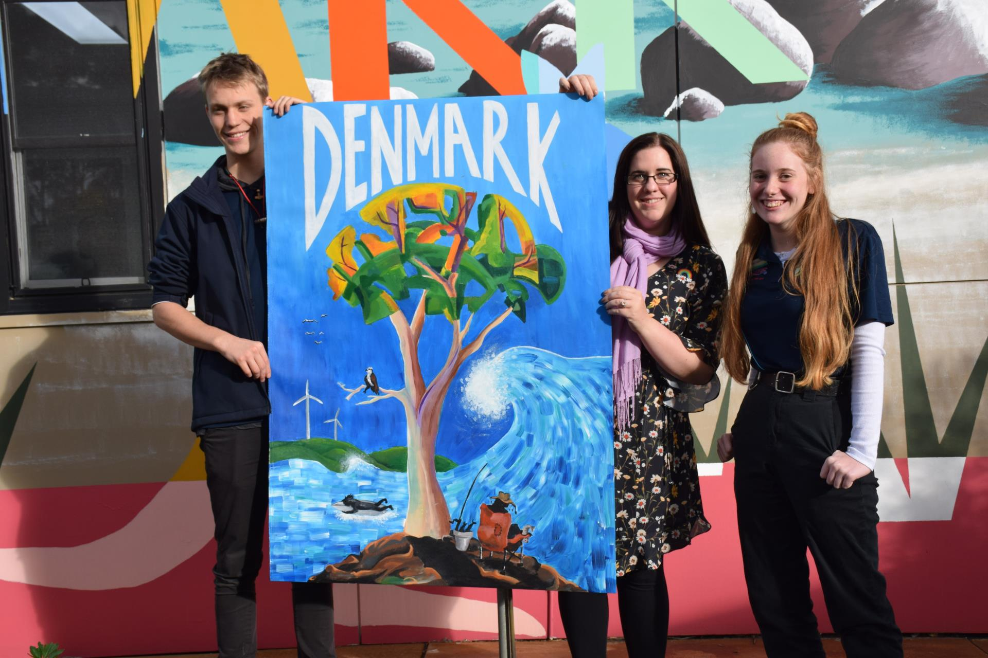 Denmark students' art skills on show at Pixels exhibition