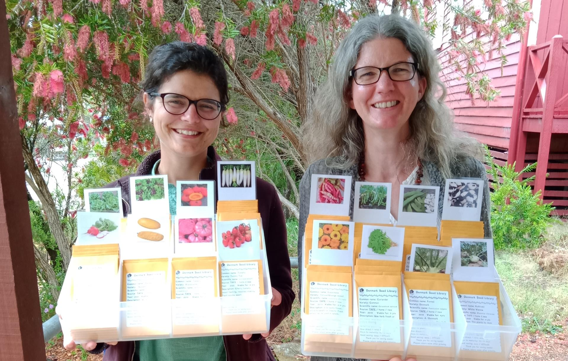 Denmark Seed Library Springs into Action