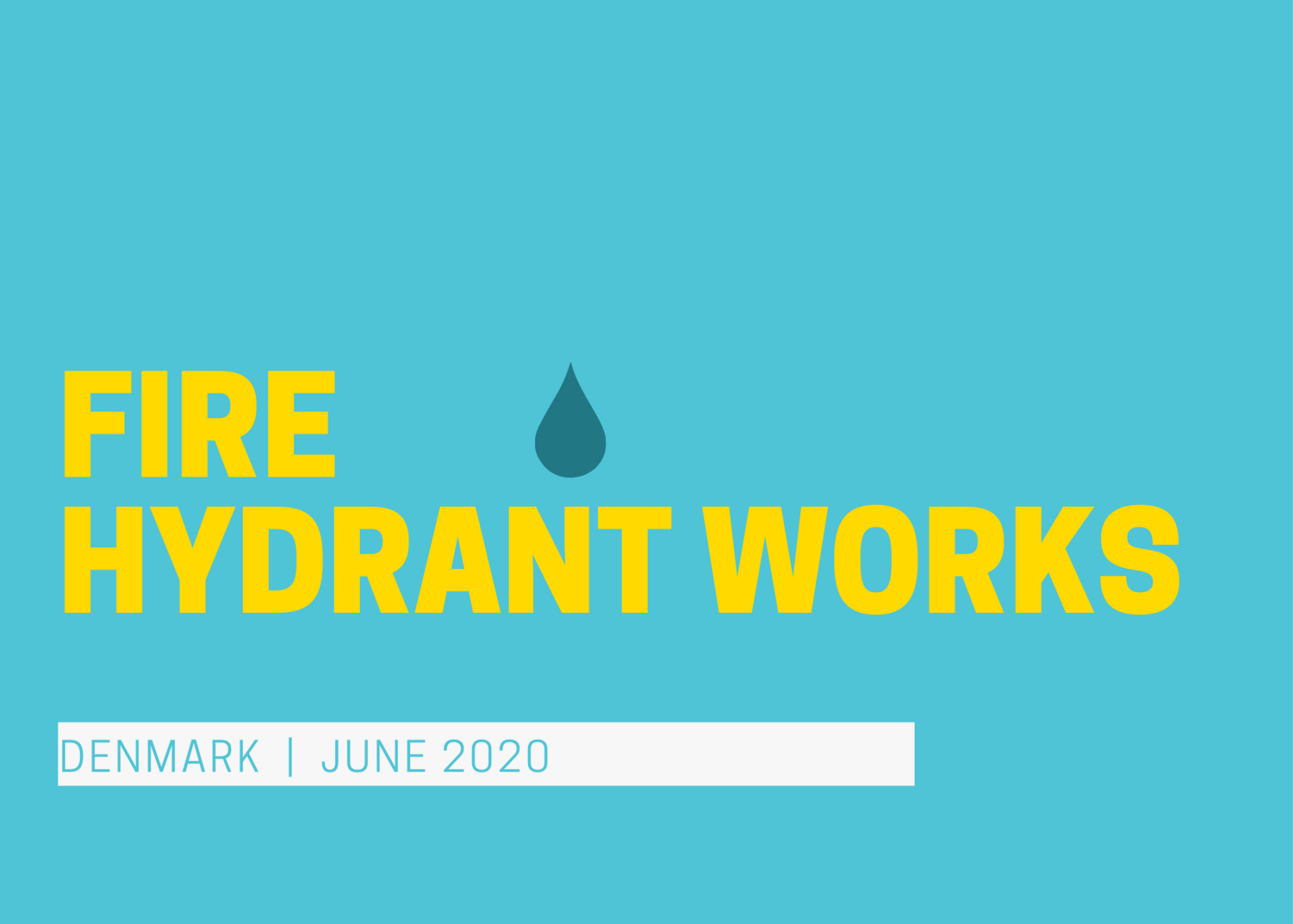 Water Corporation works - replacement of fire hydrants in Denmark