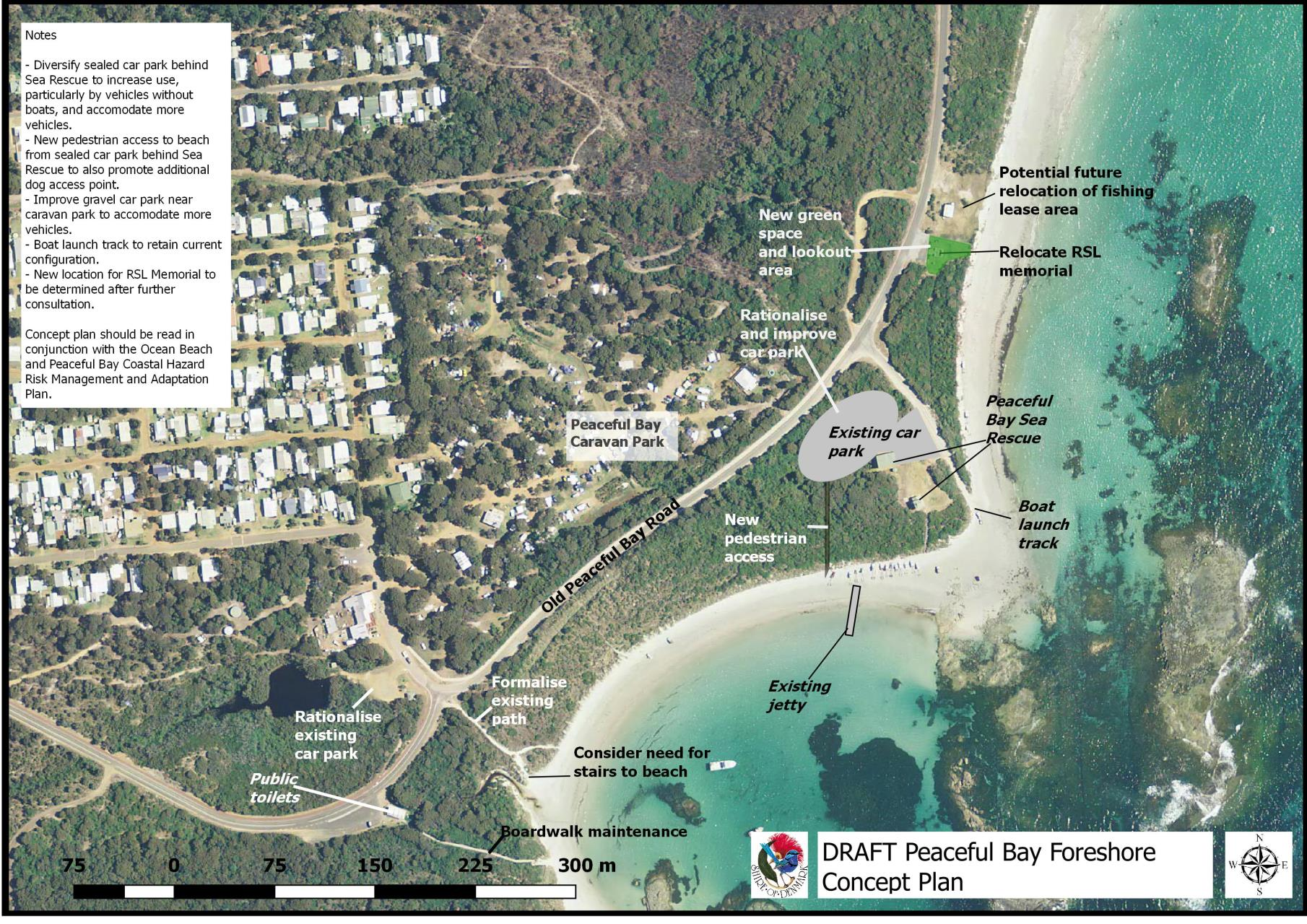 Consultations details shire of denmark peaceful bay foreshore concept plan gumiabroncs Image collections
